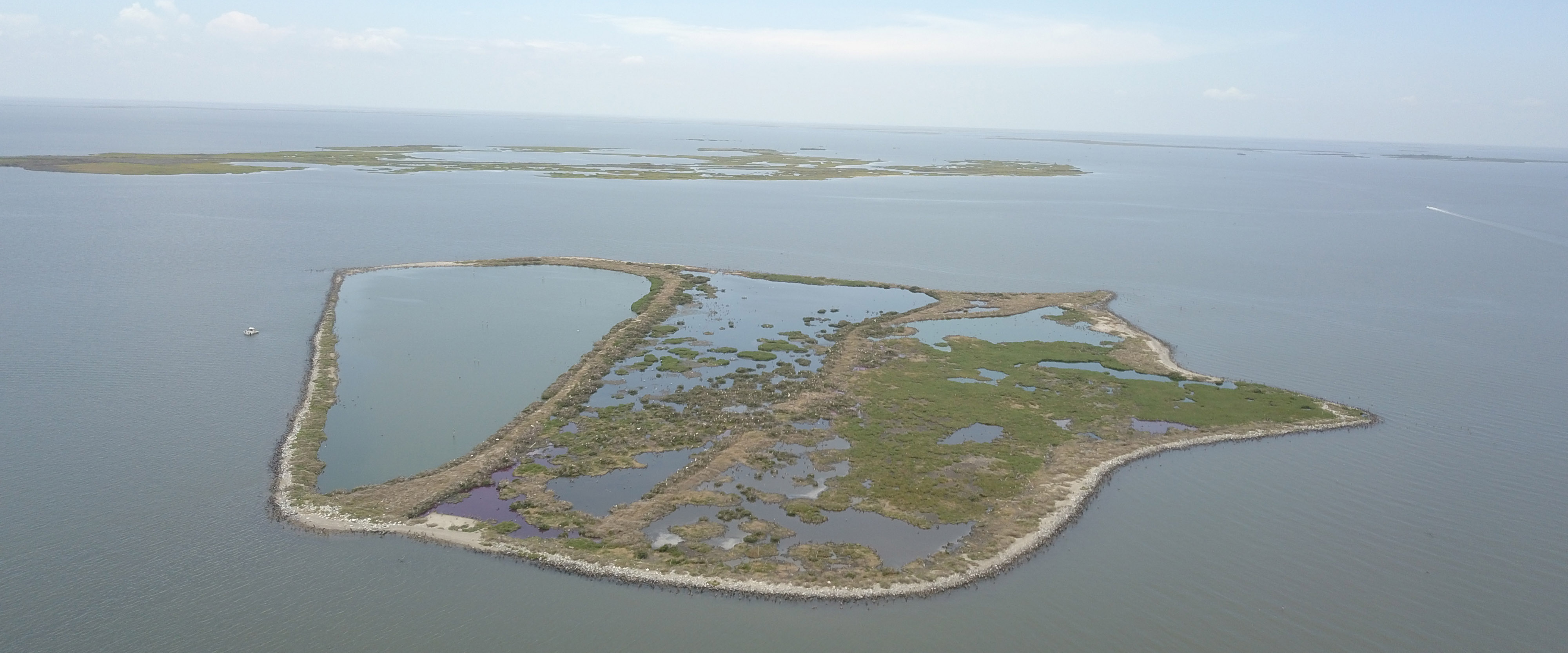 Louisiana Trustees Release Final Restoration Plan for Queen Bess Island