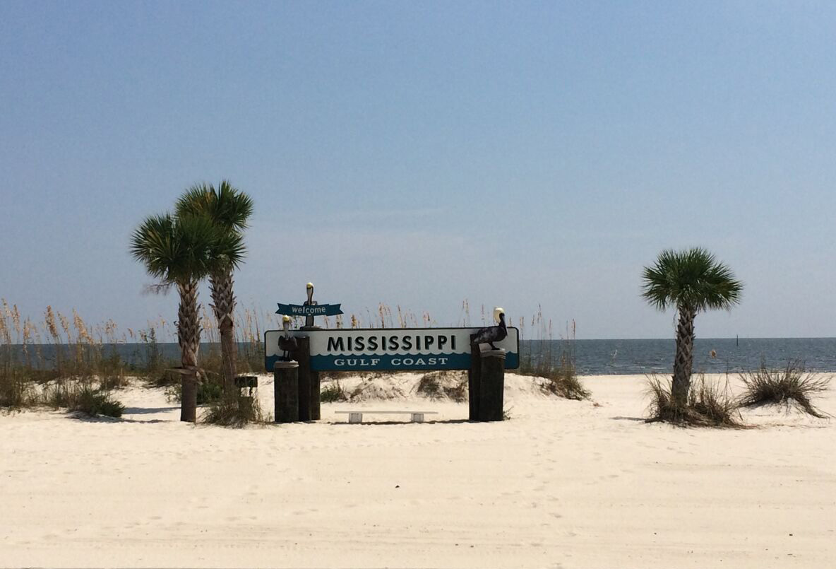 Mississippi beach