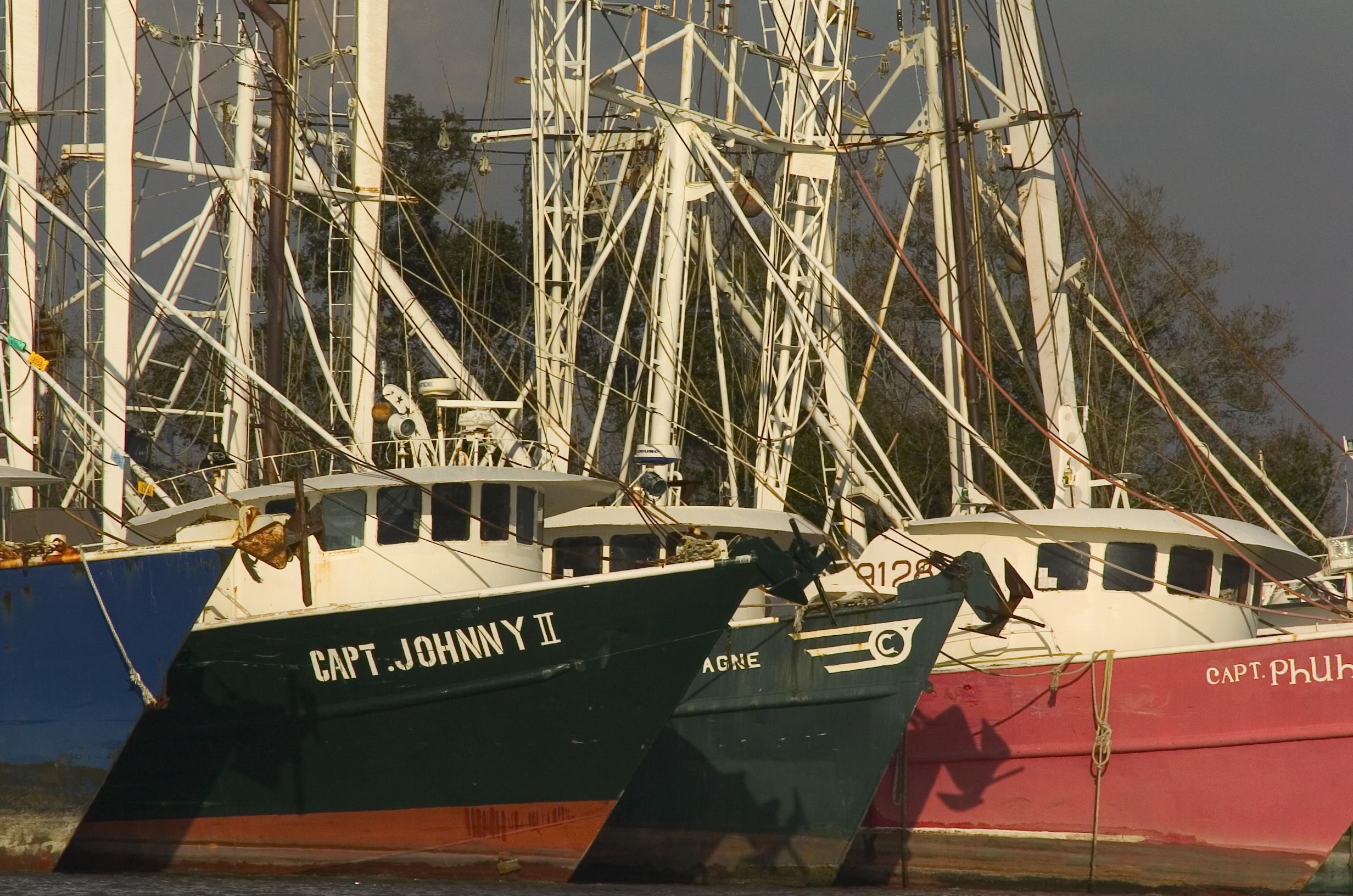 Louisiana fishing boats