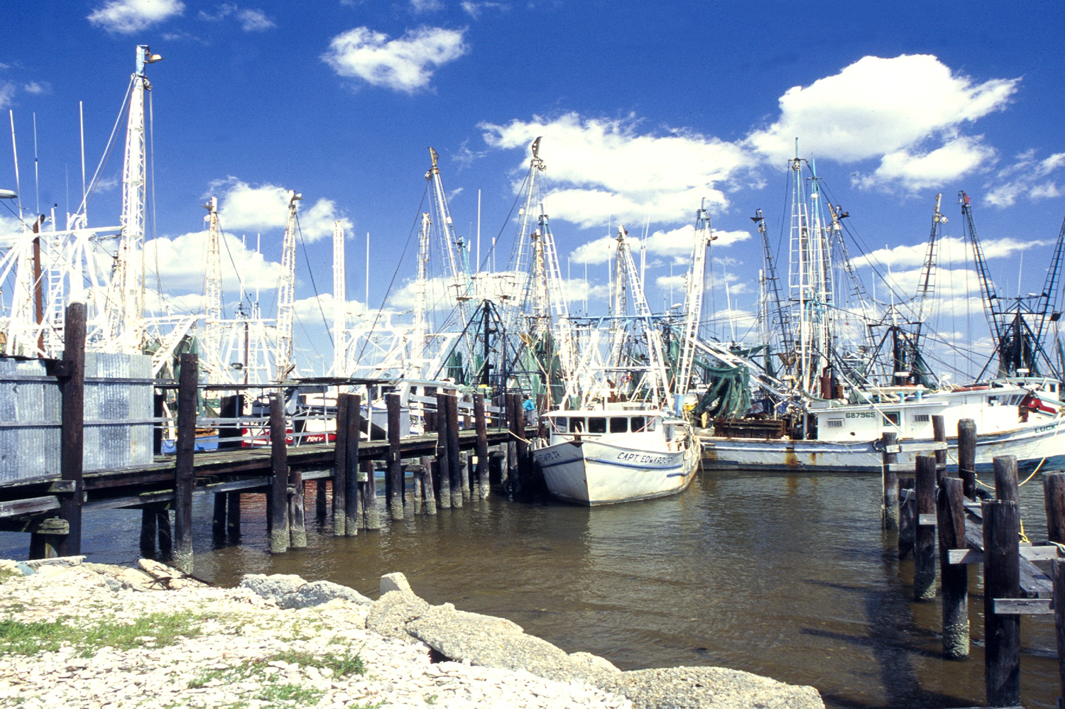 Shrimping Boats in Mississippi