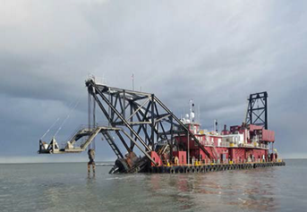 cutter section dredge