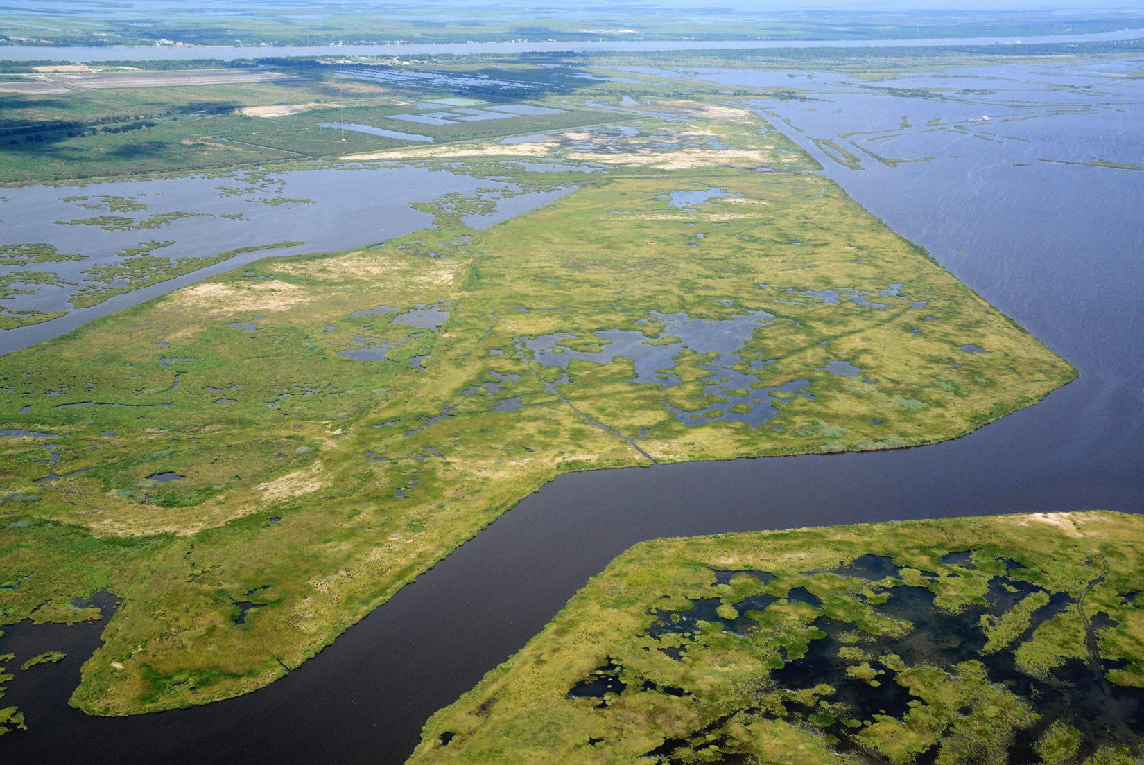 Lake Hermitage marsh creation