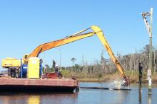 Alabama Living Shorelines Project is Underway