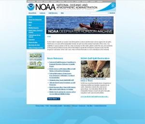 screen shot of Deepwater Horizon library