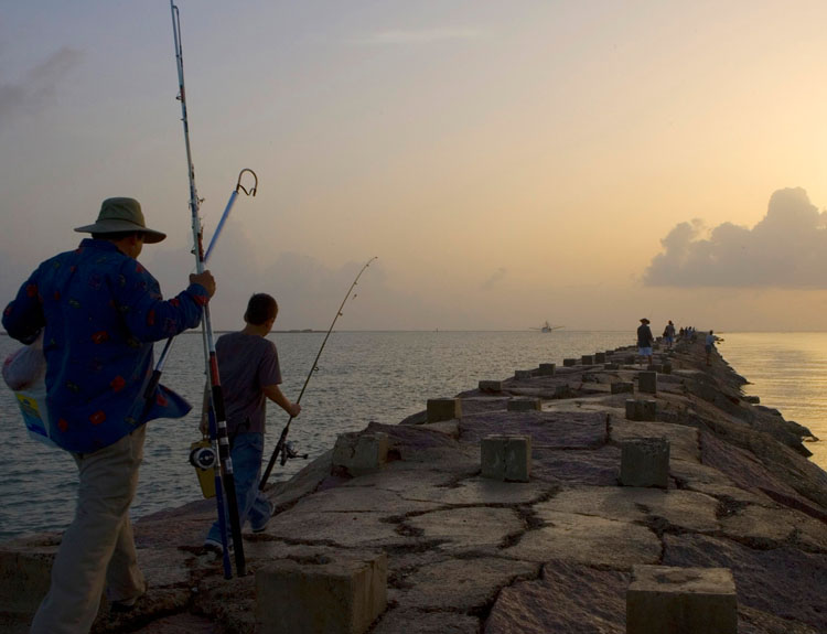 Phase iv of early restoration noaa gulf spill restoration for South padre island fishing